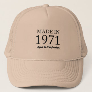 Made In 1971 Trucker Hat