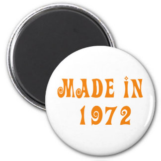 Made in 1972 2 inch round magnet