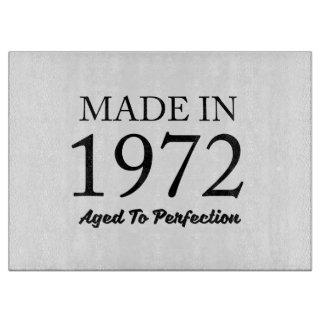 Made In 1972 Cutting Board