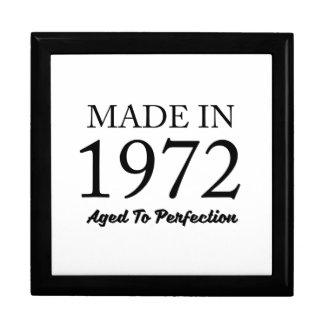 Made In 1972 Keepsake Boxes
