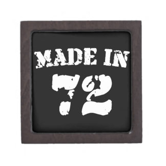 Made In 1972 Premium Jewelry Boxes
