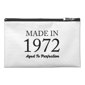 Made In 1972 Travel Accessory Bag
