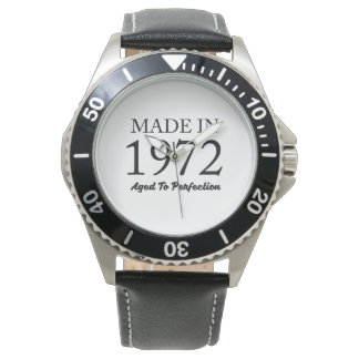 Made In 1972 Wristwatch
