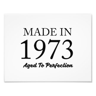 Made In 1973 Photo Print