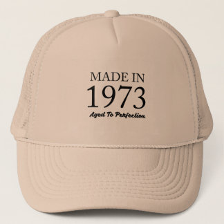 Made In 1973 Trucker Hat