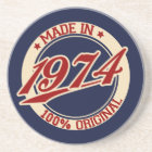 Made In 1974 Coaster