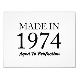 Made In 1974 Photo
