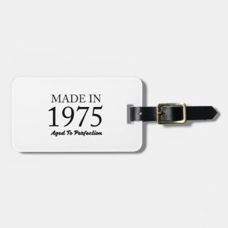Made In 1975 Bag Tag