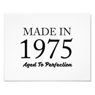 Made In 1975 Photo Print