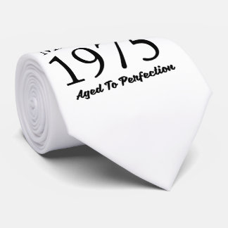 Made In 1975 Tie