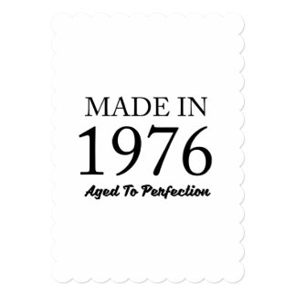 Made In 1976 Card