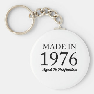 Made In 1976 Keychain