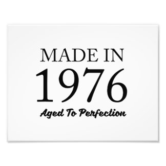 Made In 1976 Photo Print