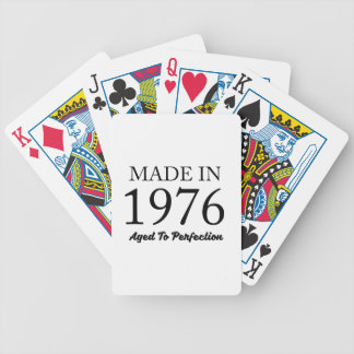 Made In 1976 Poker Deck