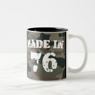 Made In 1976 Two-Tone Coffee Mug