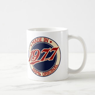 Made In 1977 Coffee Mug