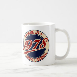 Made In 1978 Coffee Mug