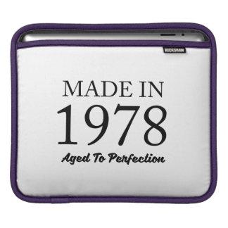 Made In 1978 iPad Sleeve