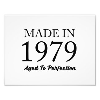 Made In 1979 Photo Print