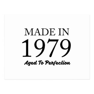 Made In 1979 Postcard