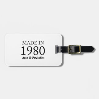Made In 1980 Bag Tag