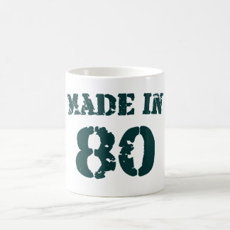 Made In 1980 Coffee Mug
