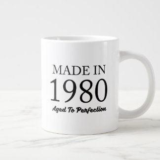 Made In 1980 Giant Coffee Mug