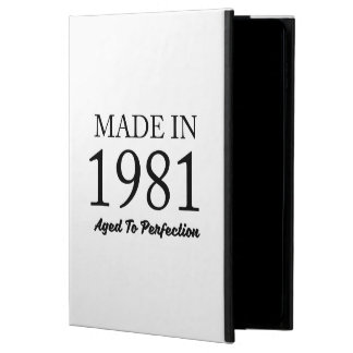 Made In 1981 Powis iPad Air 2 Case