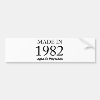 Made In 1982 Bumper Sticker