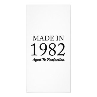 Made In 1982 Customized Photo Card