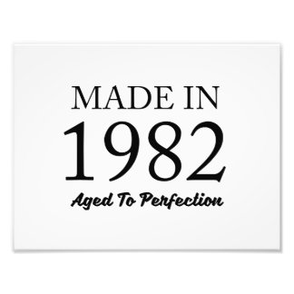 Made In 1982 Photo Print