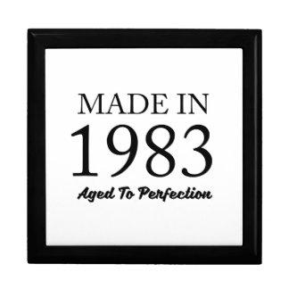 Made In 1983 Jewelry Box