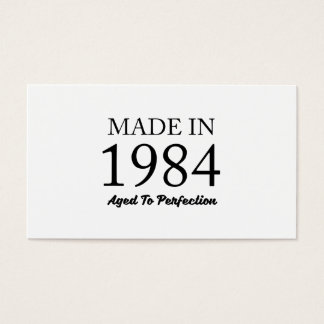 Made In 1984 Business Card