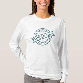 Made in 1984 Circular Stamp Style Logo Women's T-Shirt