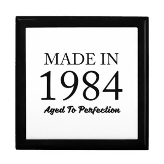 Made In 1984 Gift Box