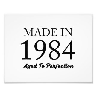 Made In 1984 Photo Art