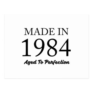 Made In 1984 Postcard