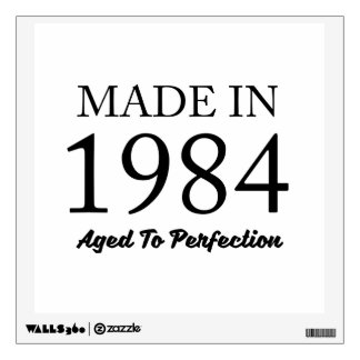 Made In 1984 Wall Decal