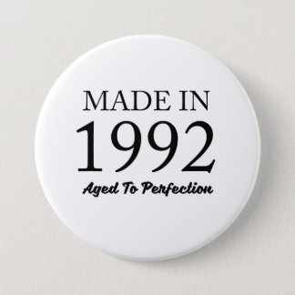 Made In 1992 3 Inch Round Button