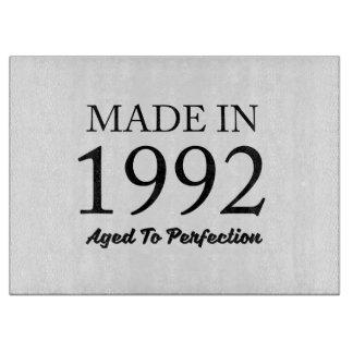 Made In 1992 Cutting Board