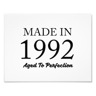 Made In 1992 Photo Print