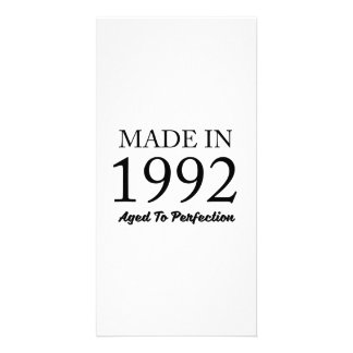 Made In 1992 Picture Card