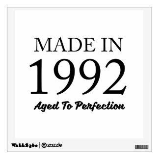 Made In 1992 Wall Decal