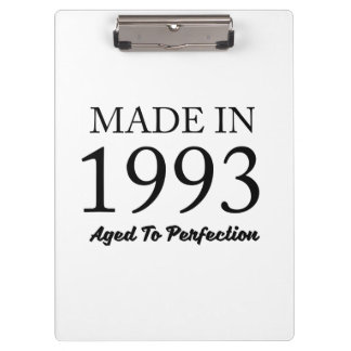 Made In 1993 Clipboard