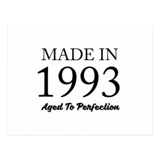 Made In 1993 Postcard