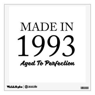 Made In 1993 Wall Decal
