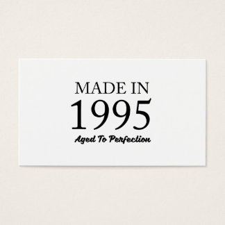 Made In 1995 Business Card