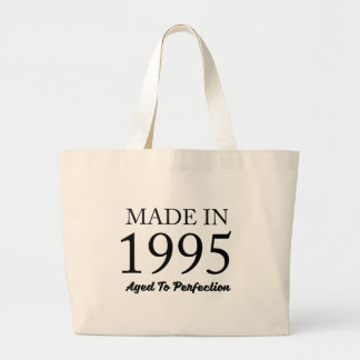 Made In 1995 Large Tote Bag