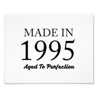Made In 1995 Photo Print