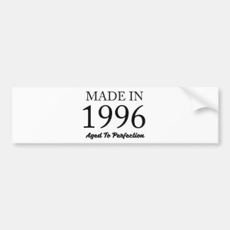 Made In 1996 Bumper Sticker